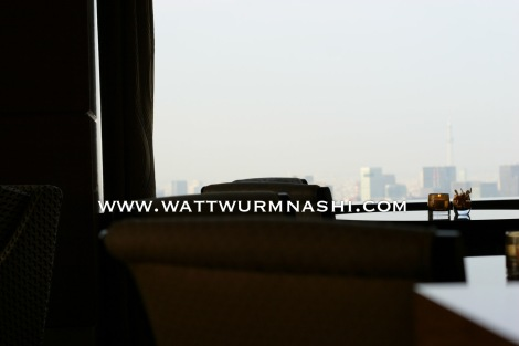 Ritz-Carlton Tokyo lounge, 45th floor